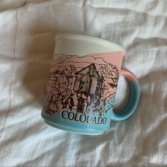 Vintage Retro Pastel Colorado Mug